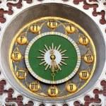 Ancient clock — Stock Photo