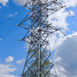 Electric power pylon — Stock Photo