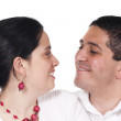 Enamoured pair - Stock Photo
