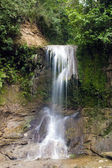 Waterfall San Sebastian in Puerto Rico — Stock Photo