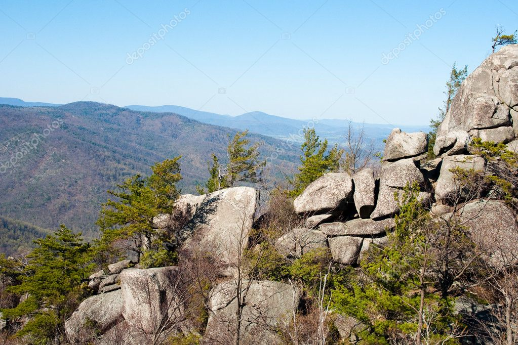 National Reserve in America Shenando. Mount Old Rag.  Stock Photo #1158890