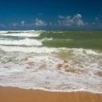 Ocean wave. Atlantic coast of the island — Stock Photo #1162283