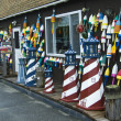 Fishing and souvenir shop - Stock Photo