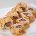 Rolls with salmon — Stock Photo #1137750