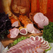 Stock Photo: Meat delicacies