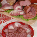 kött delikatesser — Stockfoto