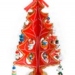 Decorative christmas tree — Stock Photo #1210567