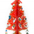 Decorative christmas tree — Stock Photo