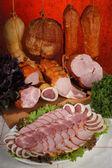 Meat delicacies — Stock Photo