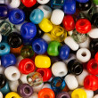 Multicoloured beads - Stock Photo
