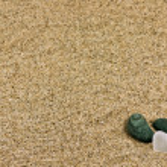 Sand and sea stones — Stock Photo