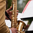 Saxophone Concert - Stock Photo