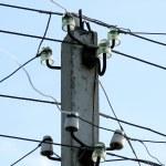 Utility  pole — Stock Photo #1384241