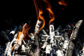 Tongues of flame 2 — Stock Photo