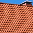 Red Roof Tiles - Stock Photo