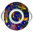 Decorative color saucer — Photo