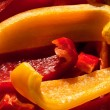 Sweet bell red pepper — Stock Photo