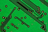 Grüne Leiterplatten-design — Stockfoto