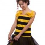 Pszczoła kostiumy kobieta — Zdjęcie stockowe