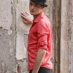 modelo de hombre de moda elegante — Foto de Stock