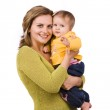 Happy family - mother and daughter — Stock Photo