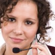 operatore di call center — Foto Stock #2034681