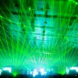 Laser show at the concert — Stock Photo #1249641