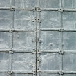 Texture of old metal gates — Stock Photo