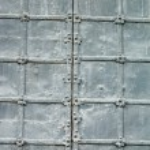 Texture of old metal gates — Stock Photo