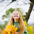 Stock Photo: Little girl outside