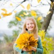 Foto Stock: Smiling little girl