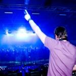 DJ en el concierto — Foto de Stock