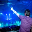 dj at the concert — Stock Photo