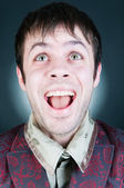 Funny young man — Stock Photo