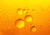 Beer bubbles — Stock Photo