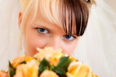 Eyes Bride — Stock Photo
