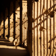 Stock Photo: Latticed shadows concept