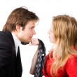 Man and woman conflict — Stock Photo #1194893