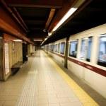 Underground station — Stock Photo