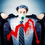 Economical crisis concept — Stock Photo
