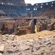 Inside Coliseum - Foto Stock