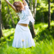 Young woman nature relax — Stock Photo #1195201