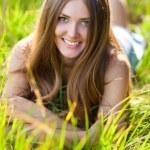 jonge vrouw portret — Stockfoto