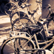 Lots of bicycles — Stock Photo