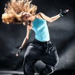 Young woman modern dance - Stock Photo