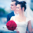 Young couple wedding — Stock Photo #1195430