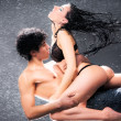 Young sexy couple - Foto Stock