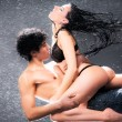 Young sexy couple - Stok fotoraf