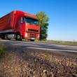 Truck cargo transportation — Stock Photo
