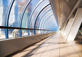 Modern bridge interior — Stock Photo
